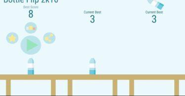 Bottleflip games