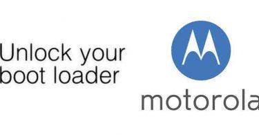 Unlock Motorola Bootloader
